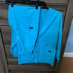 Cherokee LS jacket with elastic waist pants SMALL